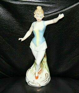 Vintage Ballerina Dancer Porcelain Figurine Marked Germany