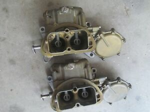 1967 Corvette Tri Power Carbs 3659 691 Dated Sept 66 Early