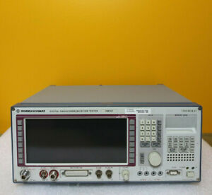 Rohde Schwarz Cmd57 800 To 1 9 Ghz Digital Radio Communication Tester options