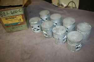 Nos 1949 Lincoln Piston Set 8el 6110 C