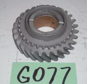 Used Oem 68 80 Mgb 4 Synchro Gearbox 2nd Gear Thrust Washer G077