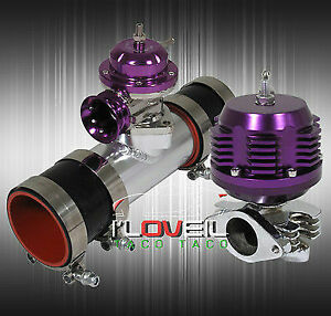 Turbo Charger Kit Blow Off Valve Bov 35 38 Mm External Wastegate Adapter Pipe