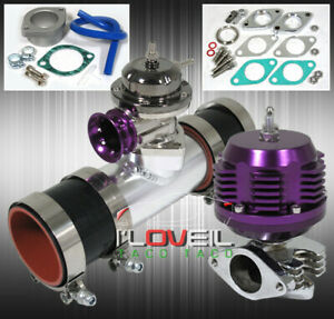 Turbo Charger Combo Kit blow Off Valve Bov External Wastegate Pipe Couples