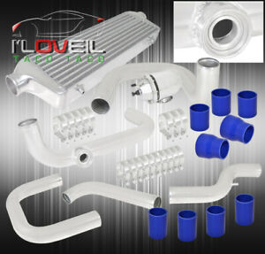 92 95 Civic Bolt on Piping Kit Turbo Charger Sport Intercooler Silicone Hose