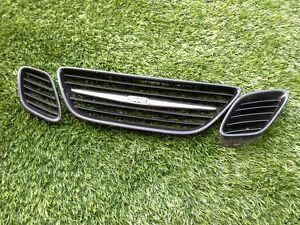 2003 2007 Saab 93 9 3 Front Grill Set Of 3 Painted A3