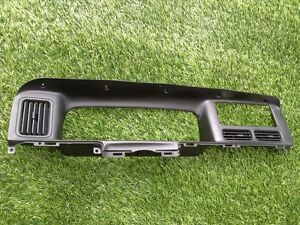 1996 1998 Jeep Grand Cherokee Dash Trim Bezel Black Oem See Photo