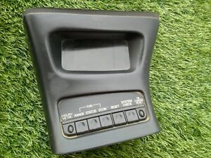 1995 2001 Ford Explorer Mountaineer Center Console Info Screen Black Oem