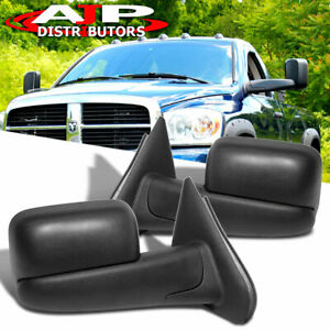 2002 2008 Dodge Ram Towing Flip Mirrors Manual By Hand Replacement Upgrade