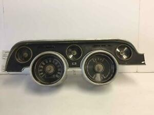 1968 Ford Mustang Speedometer parts Only Not Tested Bezel Has Cracks