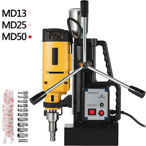 Electric Magnetic Drill Press Md13 md25 md50 Mining Stable Welding