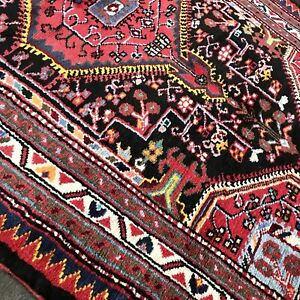 Stunning C 1950 Vintage Antique Exquisite Hand Made Rug 3 0 X 4 2