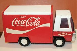 NICE VINTAGE 1960'S or 70'S BUDDY L COCA-COLA DELIVERY TRUCK