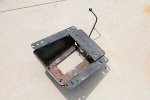 Factory Oem 1964 1980 Dodge Truck Passenger Seat Base Out Of 1975 Ramcharger