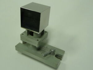 Zeiss 6 Sided Cube 50mm 0 5m With Base Gage Block Cmm Calibration W rfel