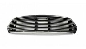Classic Mini Grill Centre Black New 11 Slats Fits 1967 And On Sku Mbp 196