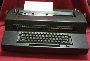 Ibm Correcting Selectric Iii Tested Working