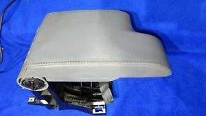 2000 05 Bmw 3 Series E46 Oem Center Arm Rest Console Compartment Lid Gray Grey