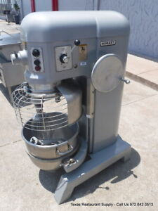Hobart H 600t Bakery Donut Pizza Dough Mixer 60 Qt W Bowl Paddle Whip