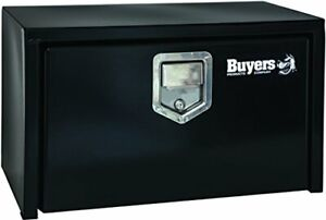 Buyers Products 1703150 Truck Tool Box Black Steel Underbody Paddle Latch