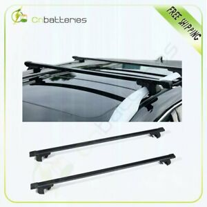 Fit For Jeep Patriot Heavy duty Black Roof Rack 48 Cross Bars Cargo Carrier