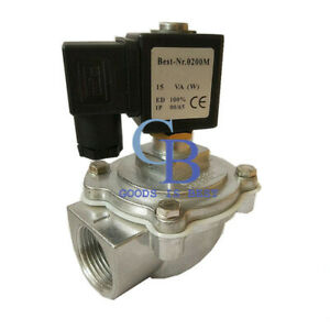 Ac220v G1 Dn25 Right Angle Electromagnetic Pulse Valve Solenoid Pulse Valve