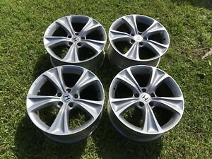 18 Inch Honda Accord 2011 2012 Oem Factory Original Alloy Wheel Rim 64016 Set 4