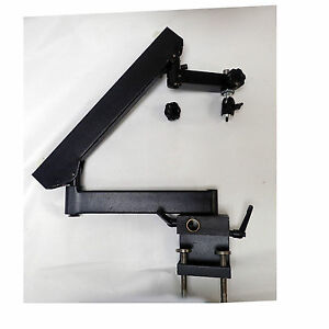 Flexarm Stand 360 Microscope Arm W Panavise Attachment Clamps Onto Bench