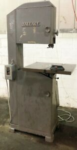 Wallace 18 Vertical Band Saw Wood