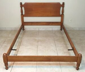 Heywood Wakefield Mid Century Modern Full Size Bed Frame Double Bed C 204 4 6
