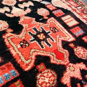 Stunning C 1930 Vintage Antique Exquisite Hand Made Rug 2 1 X 3 3