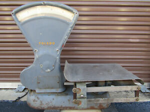 Antique Working Toledo 25lb Capacity Produce Meat Scale Local Pickup Only