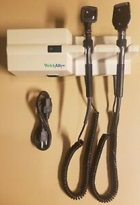Welch Allyn 767 Series Wall Transformer With Otoscope And Ophthalmoscope