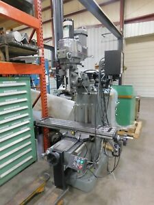 Bridgeport Variable Speed 2hp Cnc Vertical Mill 3 Axis Ez trak