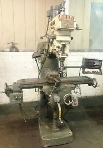 Cincinnati 5hp Vertical horizontal Mill