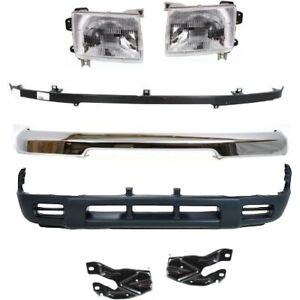 Bumper Kit For 1998 2000 Nissan Frontier Front Us Built Models Up To 09 1999