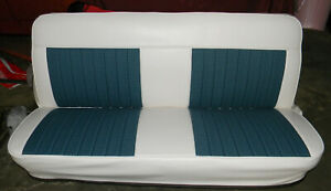 67 72 Chevy Truck Houndstooth Upholstery Bench Seat Cover