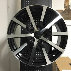 Set 4 19 Hfp Accord Style Sport Black Rims Wheels Fits Honda Civic
