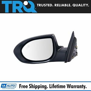 Trq Mirror Power Heated Puddle Light Blind Spot Monitor Paint To Match Lh Side