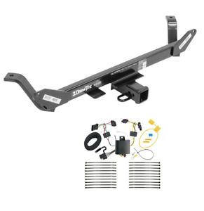 Trailer Tow Hitch For 16 17 Bmw X1 All Styles W Wiring Harness Kit Plug