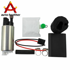 New 255lph High Performance Fuel Pump With Install Kit Replacement Gss341
