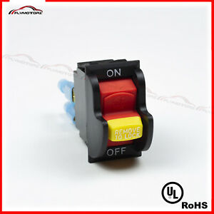 Dual Voltage Toggle Safety Switch W key 20a 125 250v Delta 489105 00table Saw Ul