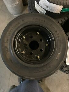 4 00x8 Tire Wheel Solid 4 00 8 Tire wheels Airport Carts