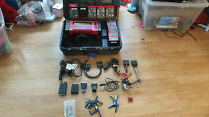 Snap on Mt2500 Scanner 24 Keys 4 Adaptors 11 Cartridges And More With Case