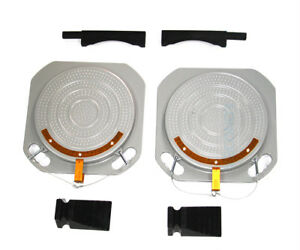 2 Wheel Alignment Turntable Turn Plates 10 000 Pounds Capacity Bridge Blocks