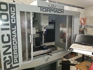 Tormach Cnc 1100 Milling Machine W toolchanger Tooling Holders