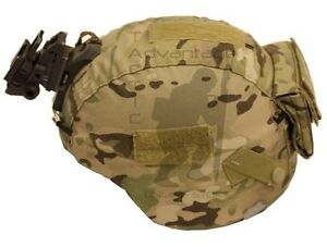 Eagle 75th Ranger MICH Helmet Cover w Counterweight Pocket Multicam LARGE $58.00