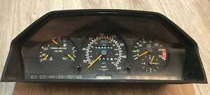 1993 Mercedes Benz 400e Speedometer Cluster 124 543 45 25 Used 137k Low Miles