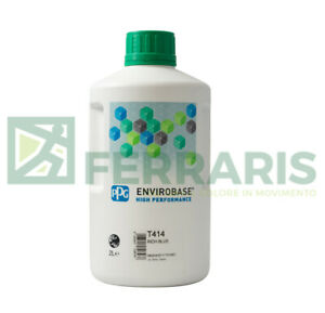 Ppg Waterbase T414 Envirobase Body Car Mixing Colour Color Basecoat Tinter 12 Lt