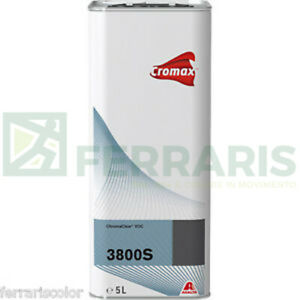 Clear S3800 Cromax Dupont 3800 S For Paint Car Body Axalta Total 5 Lt