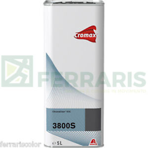 Clear 3800 S Cromax Dupont 2k For Paint Body Car Painting Refinish Tbo 5 Lt